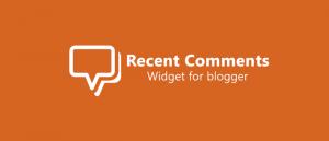 Menambah Widget Komentar Terbaru Dengan Gambar Avatar