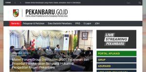 Portal Pemerintah Kota Pekanbaru