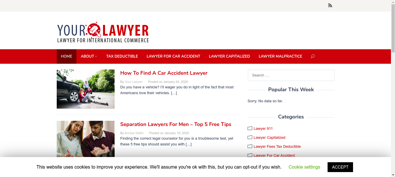 Your Lawyer - Lawyer For International Commerce